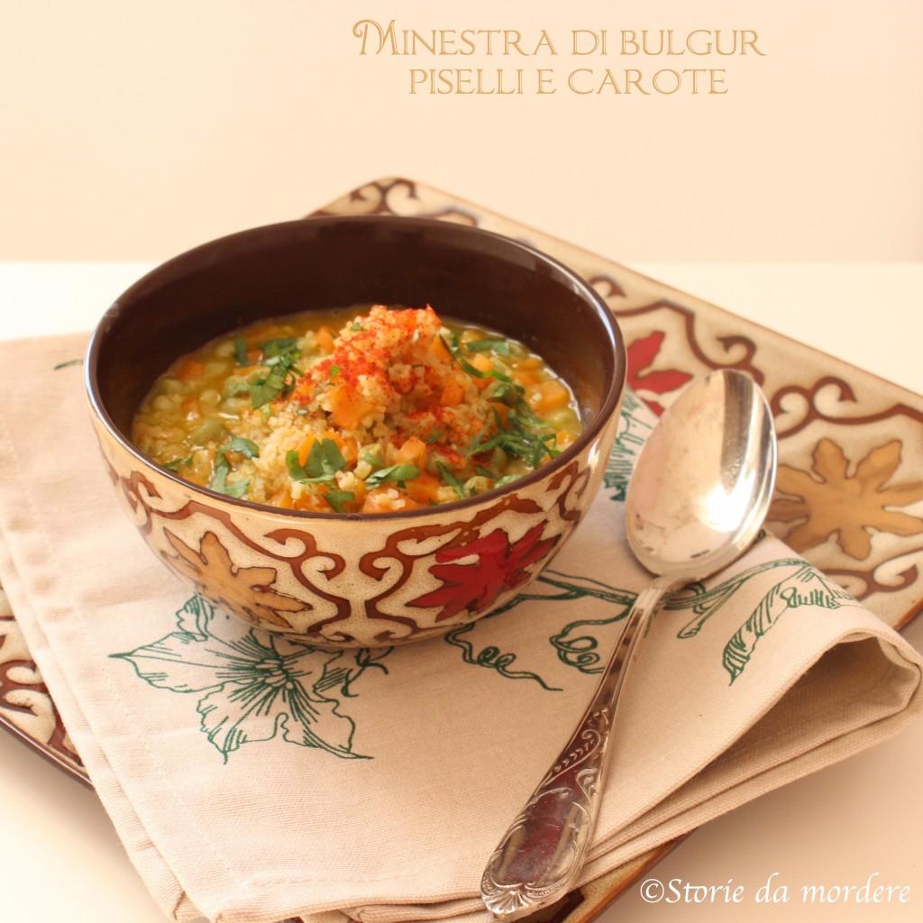 minestra boulgur piselli carote 2