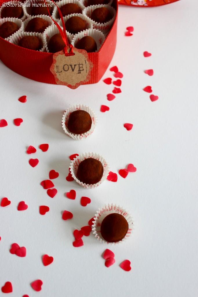 tartufi cioccolato mandorle