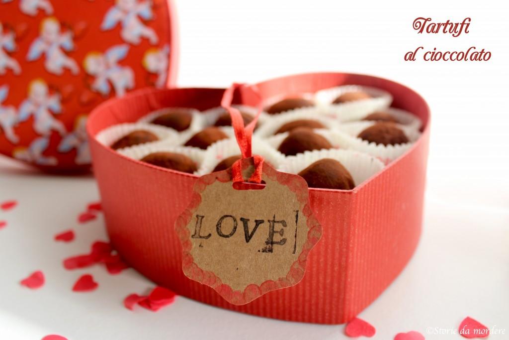 tartufini cioccolato cacao