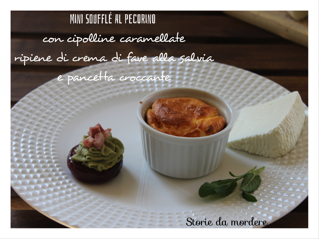 mini soufflè pecorino pp