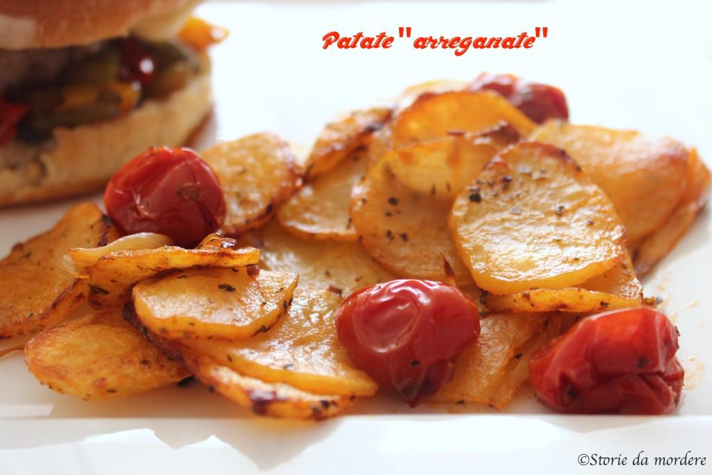 cheseburger patate arreganate