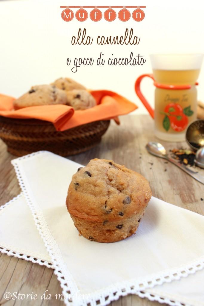 muffin cannella cioccolato 1
