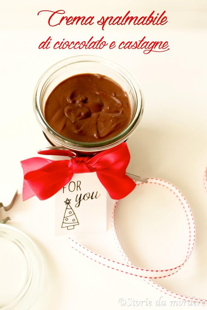 crema cioccolato castagne spalmabile