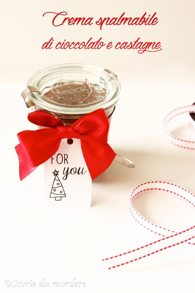 crema spalmabile cioccolata castagne