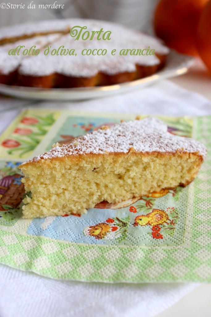 torta olio oliva cocco arancia