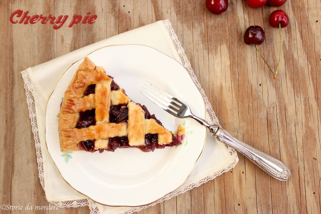 cherry pie torta ciliegie