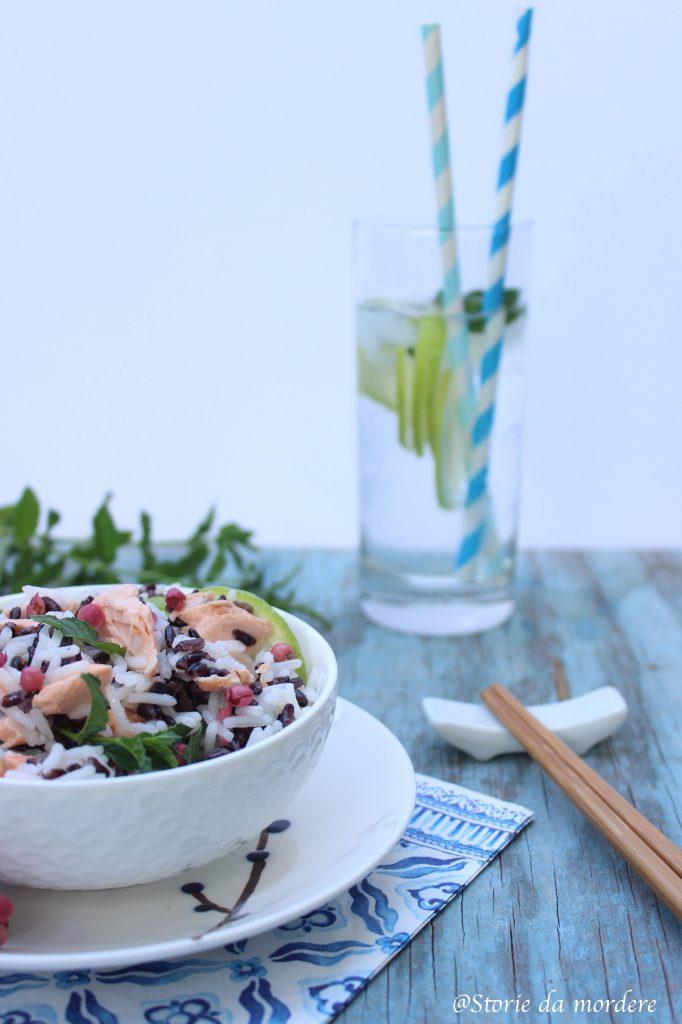 insalata-riso-venere-basmati-salmone-lime-menta