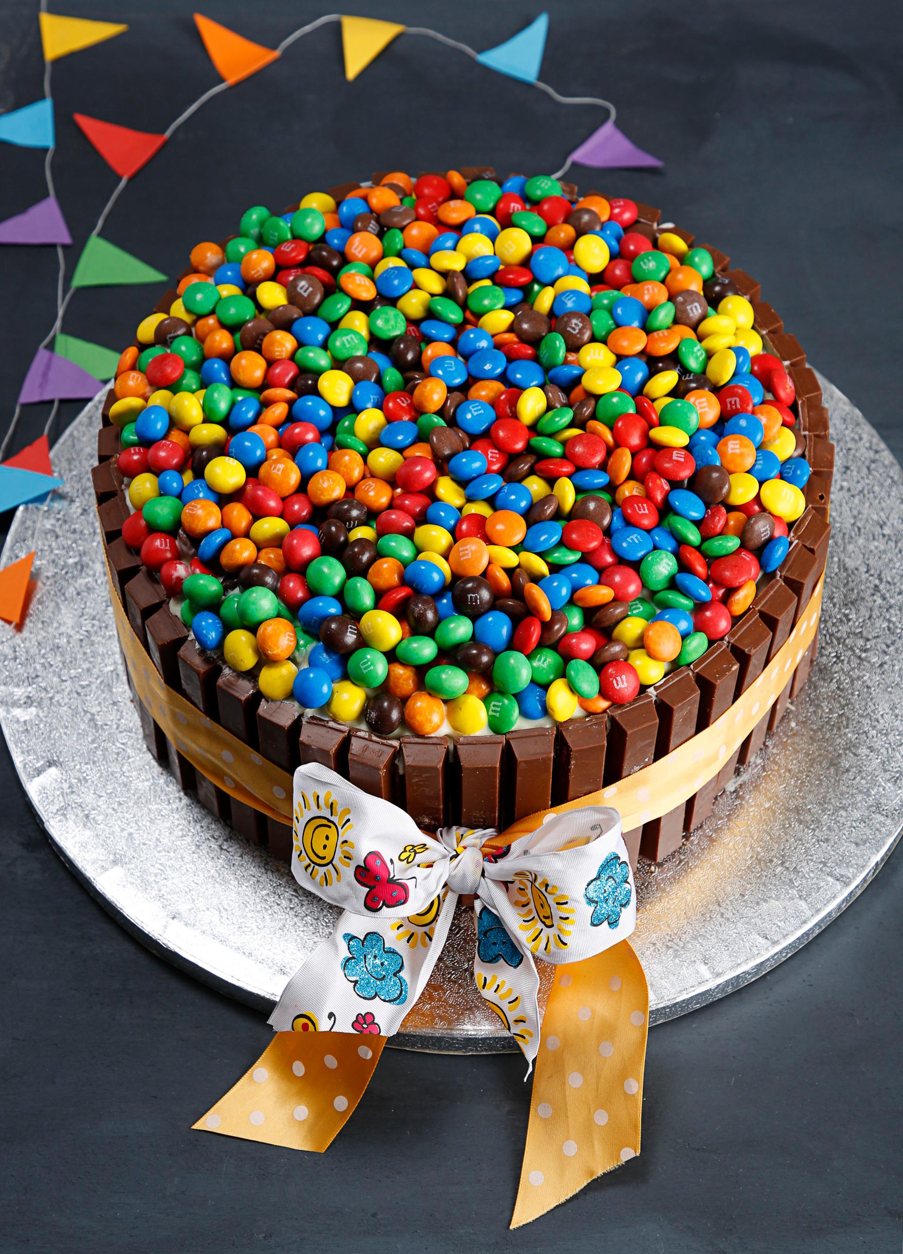 Torta Kit Kat E Mms Cucinando Con Gioia